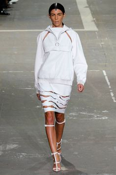NEW YORK - Alexander Wang #nyfw #fashion #runway