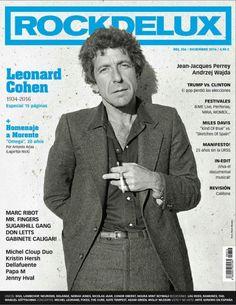 Rockdelux España   Diciembre 2016   Leonard Cohen (1934-2016)...