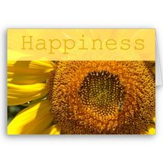Sunflower Happiness Card