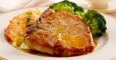 Baked Honey Mustard Pork Chops