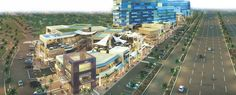 """M3M Urbana, Gurgaon - The Project has a Unique """"California-Style"""" Architecture offering consumer friendly Retail spaces and sophisticated Office spaces, the project has been designed by the renowned RSP, Singapore."""