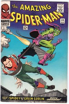 Amazing Spider-Man # 39 , August 1966 , Marvel Comics Vol 1 1963 tumblr_niysv0ErVR1rn55nzo1_540.jpg (540×807)