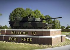 Fort Knox, KY.  Son completed basic training there.  Beautiful area!!!