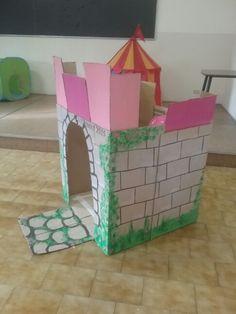 Castello di cartone  micolmania  Pinterest