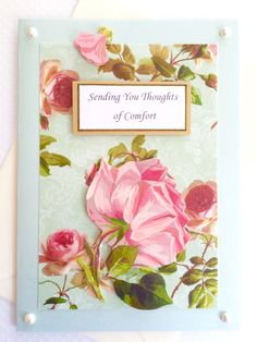 Thoughts of Comfort Sympathy Card