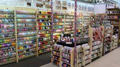 S.E.Simon's, Berties Bows & May Arts ribbons at Craft, Hobby & Stitch CHSI ExCel London 2014