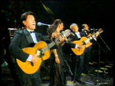 Lolita y Los Panchos cantan juntos boleros de éxito