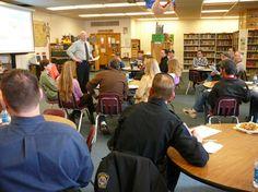 Hamilton Middle School asks dads to volunteer at school