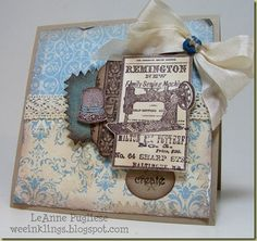 SU! weeinklings blog  ... a nice option for a Mother's Day card