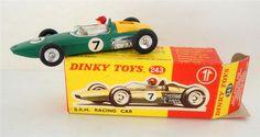 Annons på Tradera: DINKY TOYS ... B.R.M. RACING CAR