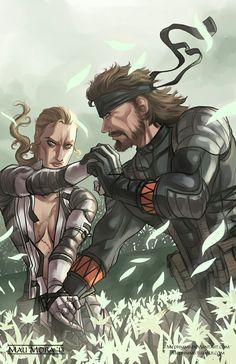 Snake eater e o tenso ritual de mãe e filho. Metal Gear V, Snake Metal Gear, Metal Gear Games, Metal Gear Solid Series, Cry Anime, Anime Art, Game Character, Character Concept, Mgs V