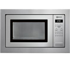 H56W20N3GB Built-in Solo Microwave - Stainless Steel