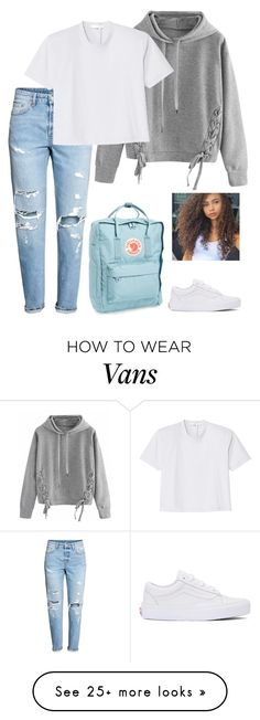 """""""publish"""" by be-for-real on Polyvore featuring H&M, WithChic, Fjällräven, TIBI and Vans"""