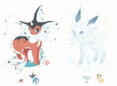 Sweetest tongue has sharpest tooth: Photo - Pokemon Pokemon Fusion Art, Pokemon Fan Art, Oc Pokemon, Pokemon Eeveelutions, Eevee Evolutions, Pokemon Comics, Pokemon Memes, Pokemon Cards, Creepy Pokemon
