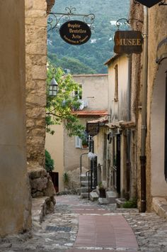 Eze, France   by © johnmiranda   via greenlikebathwater