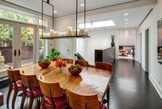 like the candle chandelier. seems like it'd be interesting at night w/ it lit up    Kelly Ripa And Mark Consuelos Selling New York City Loft For $24.5 Million (PHOTOS)