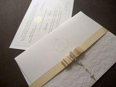 Convites clássicos de casamento - Ideale Convites
