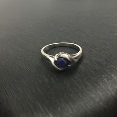 10K white gold Star Sapphire ring Beautiful 10K white gold ring with a star sapphire stone. Hard to get a good pic of the points on the star but they are there. Jewelry Rings