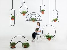These Gloriously Bizarre Planters Were Inspired By The Cosmos