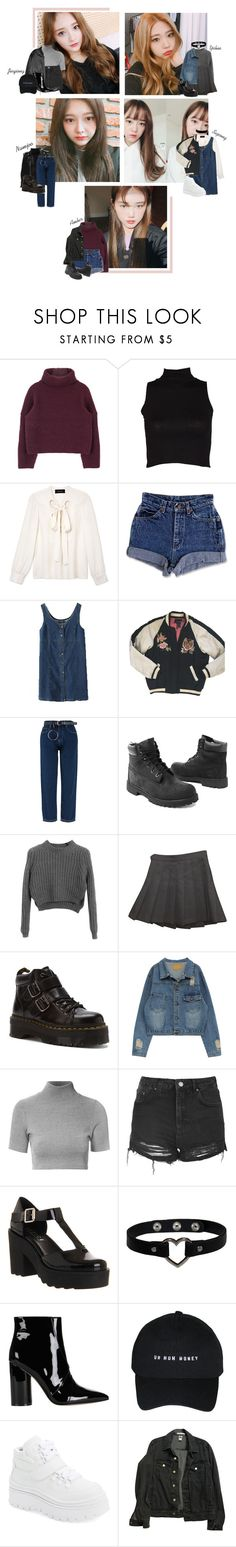 """""""PLAYBACK ●  Audition"""" by official-playback ❤ liked on Polyvore featuring Derek Lam, Isabel Marant, Timberland, Chicnova Fashion, American Apparel, Dr. Martens, Glamorous, Topshop, Office and Versace"""