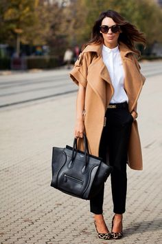 If you are a type who love casual, but feminist and stylish, you will love the gallery below of winter combinations 2013 inspired by street style. Fashion Mode, Moda Fashion, Womens Fashion, Fashion Trends, Net Fashion, Style Fashion, Office Fashion, Fashion Story, Looks Style