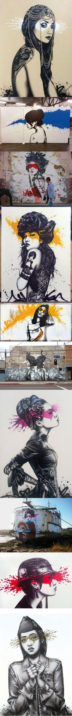 Artist: Findac #streetart jd