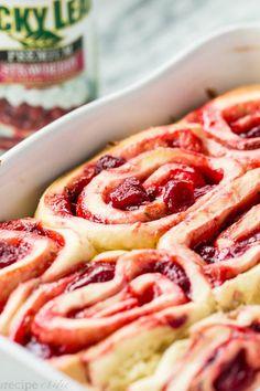 Fresa rollos de canela