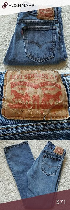 LEVI'S 501 VINTAGE ZIP JEANS LEVI'S 501 VINTAGE ZIP JEANS  SIZE TAGGED: W29 L34 MEASURED: W28 L34  RISE:10 1/2   HIPS:37 PRETTY SURE THESE ARE BOOTCUT♡♡♡♡ Levi's Jeans