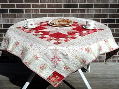 quilts as table cloths - Google Search