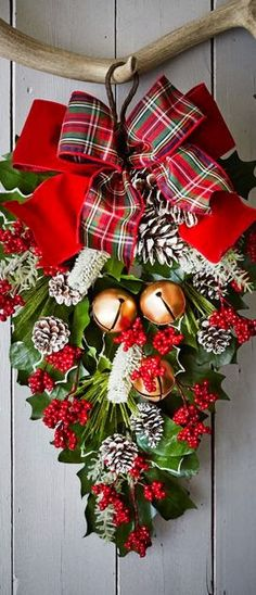 213 best Christmas -- Garland, Mailbox  Swag images on Pinterest