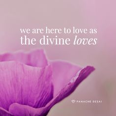 The divine loves for no reason. It completely loves all that you are in your humanity and divinity.