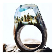 The Peace of Wild Things |tag #kommuneo to share| #love #wood #ring #design