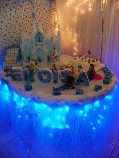 ideas para fiesta de cumpleaos de frozen