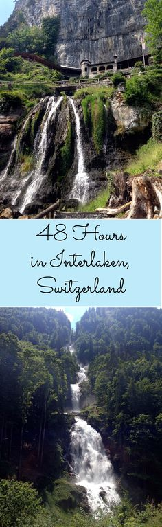 How to spend two amazing days in Interlaken Switzerland Places To Visit, Switzerland Vacation, Switzerland Interlaken, Oh The Places You'll Go, Places To Travel, Travel Destinations, European Road Trip, European Travel, Adventure Is Out There