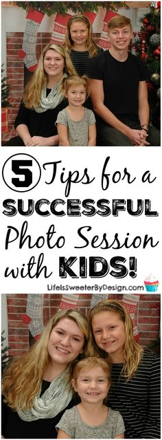 Tips for a Successful Photo Session With Kids so you don't waste time or money! Children's photography doesn't have to be hard!