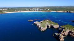 Martinhal beach aerial - Praia do Martinhal vista aérea - Sagres - Algar...