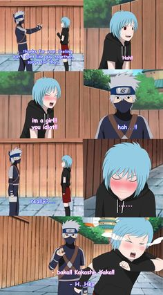 Kakashi and Mina First Meeting [Page 4]