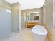 bathrooms image: neutrals, down lighting - 525597, minimalist