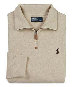 Polo Ralph Lauren French Rib Half-Zip Pullover