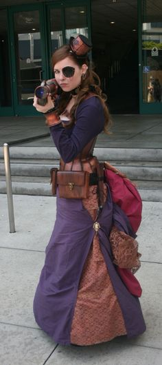 "steampunk-girl: "" Steampunk Girl """