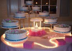 Sweet 16 Birthday Cake, 16th Birthday, Fat Girl Outfits, Cupcake Tower Wedding, Cupcake Cakes, Cupcakes, Quinceanera Cakes, Beautiful Wedding Cakes, Dessert Ideas