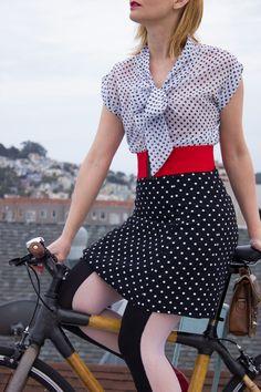 Polka Dot Cycle Chic