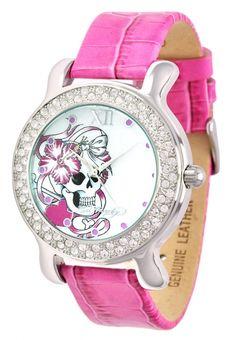 diamonte skull watch love it!