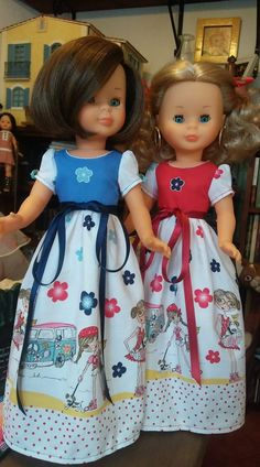 Nancy Doll, Doll Clothes, Dolls, Summer Dresses, Fashion, Chic Outfits, Girls Dresses, Yoga Tips, Weaving Kids