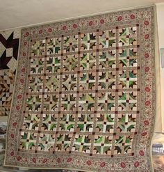 Subee Sews Quilts: Tulip Fields is all done!