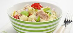 Tuna Noodle Salad - The Cooking Mom Tuna Fish Recipes, Canned Tuna Recipes, Salad Recipes, Snack Recipes, Cooking Recipes, Tuna Noodle Salads, Stuffed Pasta Shells, Recipe For Mom, Recipe Box