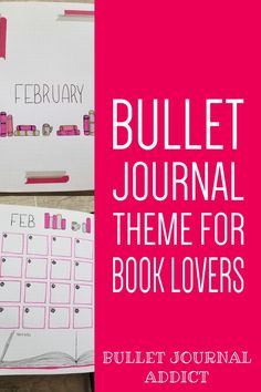 February Bullet Journal Layout and Setup - Bullet Journal Monthly Theme Idea For February - Book Lover Bullet Journal Theme Bullet Journal Yearly Spread, Bullet Journal Index, February Bullet Journal, Bullet Journal Quotes, Bullet Journal Tracker, Bullet Journal Printables, Bullet Journal How To Start A, Bullet Journal Themes, Bullet Journal Layout