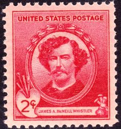 Commemorative Stamp | ... mcneill whistler whose commemorative stamp is shown separately below