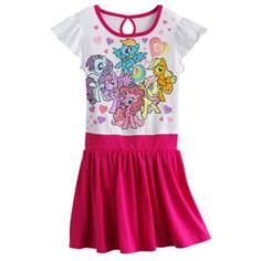 My Little Pony Heart Dress - Girls 4-6x