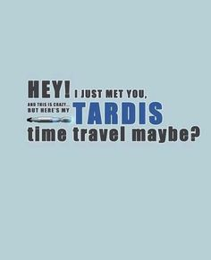 The Best Call Me Maybe Meme In The Universe, Space, Time And History    Doctor Who